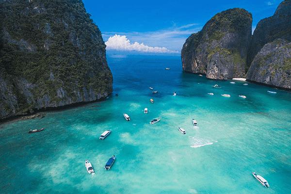 Around phi phi island