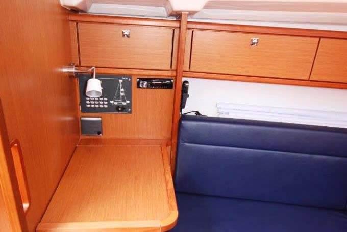 Bavaria 33C navigation sailing boat Phuket Thailand