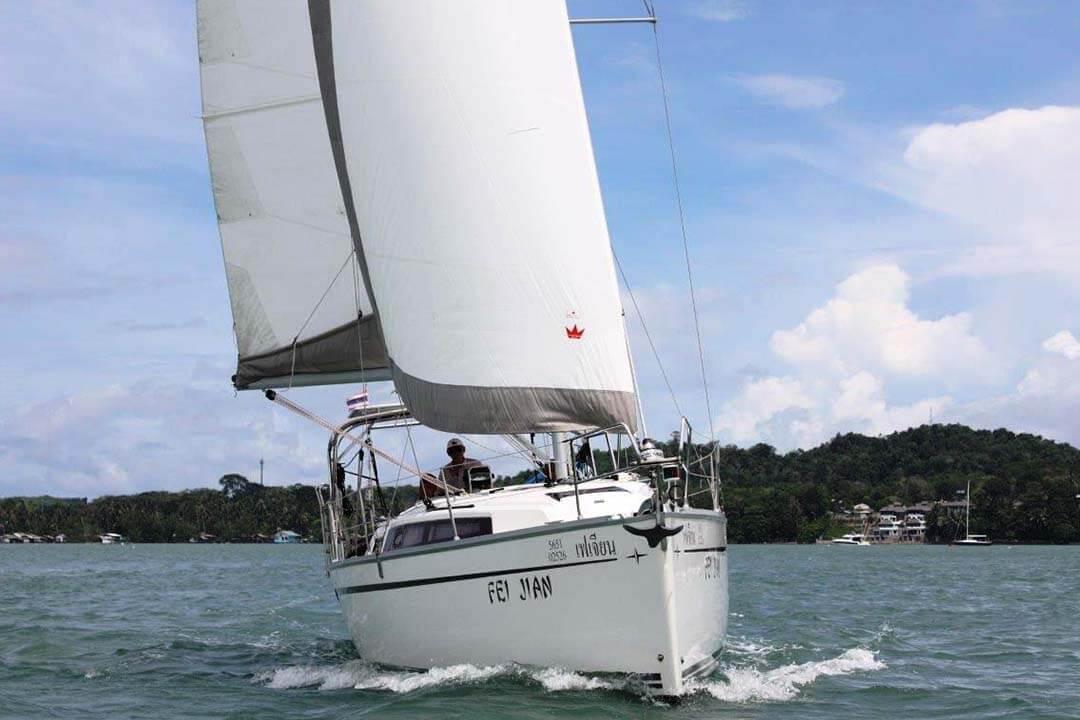 Bavaria 33C sailing boat Phuket