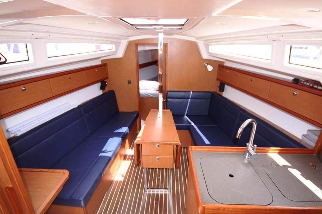 Bavaria 33C saloon sailing boat Phuket Thailand