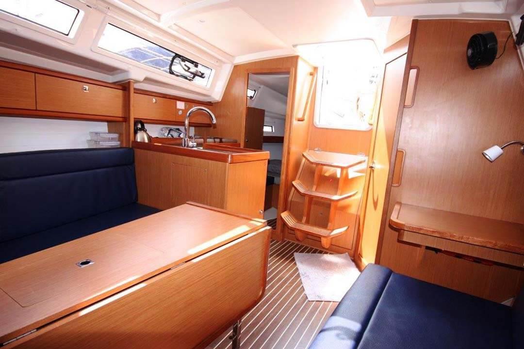 Bavaria 33C steps charter boat Phuket Thailand