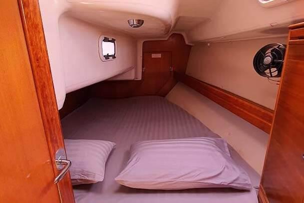 Bavaria 34C cabin charter boat Phuket