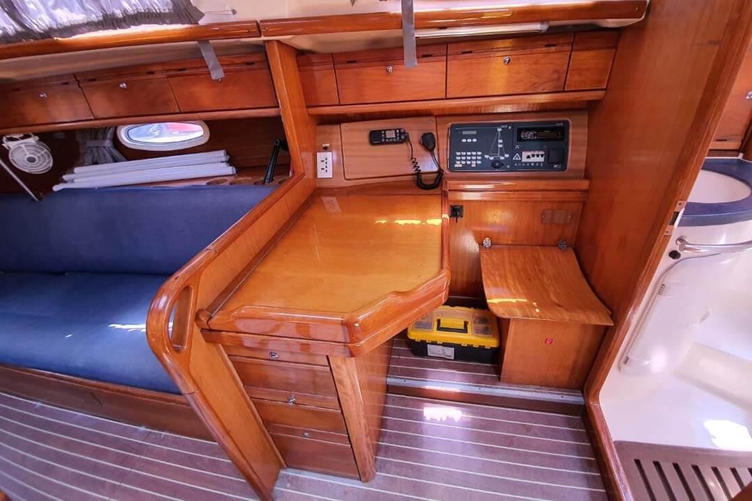 Bavaria 34C navigation charter boat Phuket