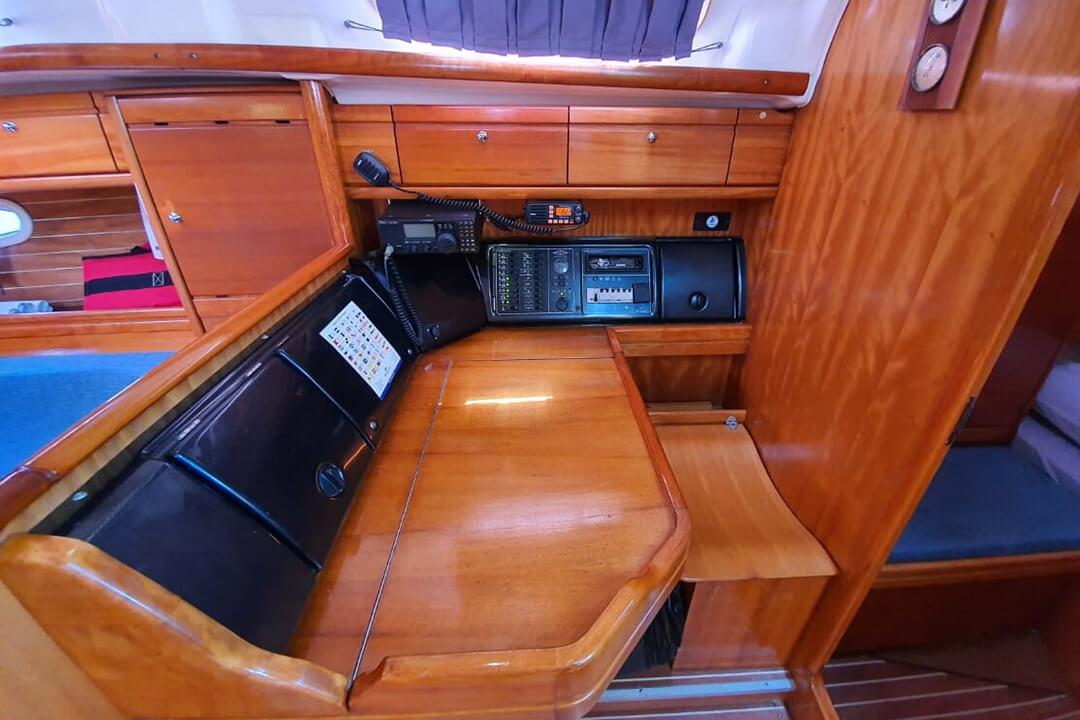 Bavaria 39C navigation charter boat Phuket