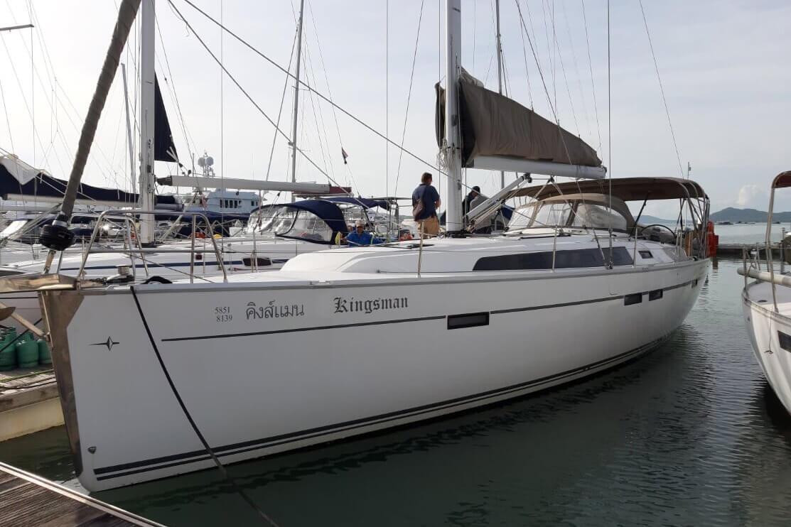 Bavaria 46C Marina charter yacht Phuket