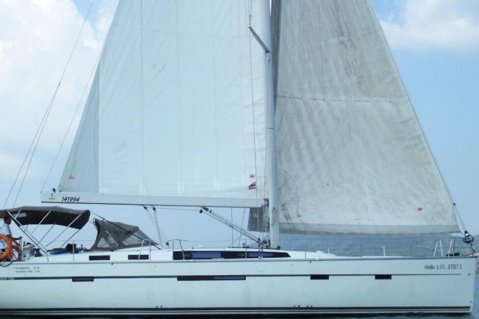 Bavaria 46C sailing charter yacht Phuket
