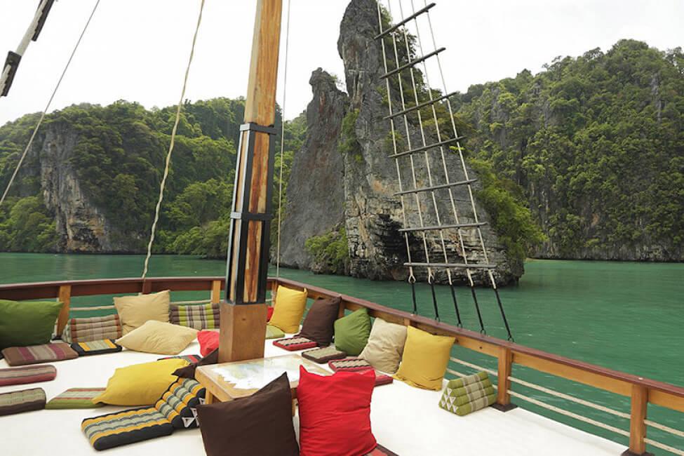 Champagne Phang Nga Bay trip
