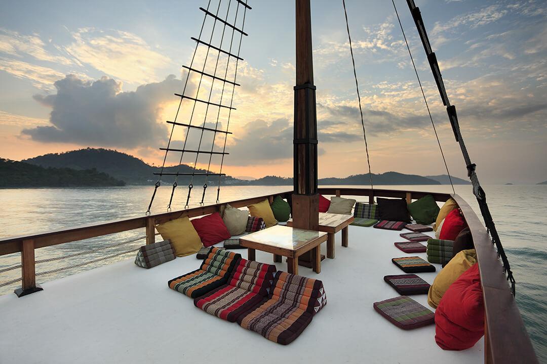 Champagne Phuket Yachts