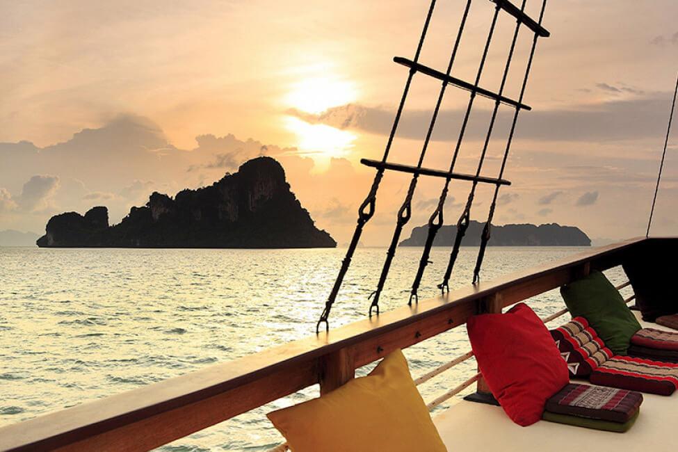 Champagne Phuket boat Charter