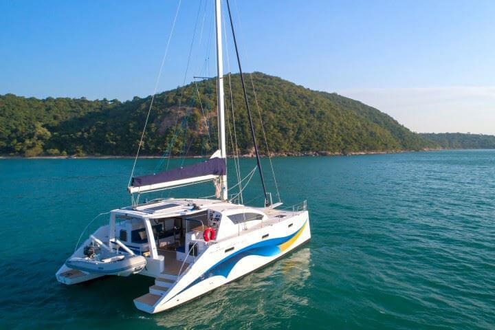 Island Spirit 41 charter Phuket