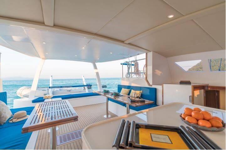Island Spirit 41 sailing charter Phuket