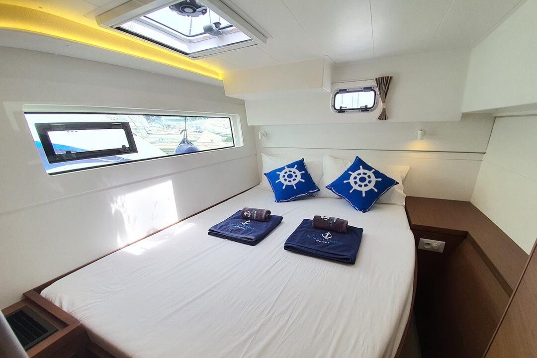 Lagoon 40 cabin sailing catamaran Phuket