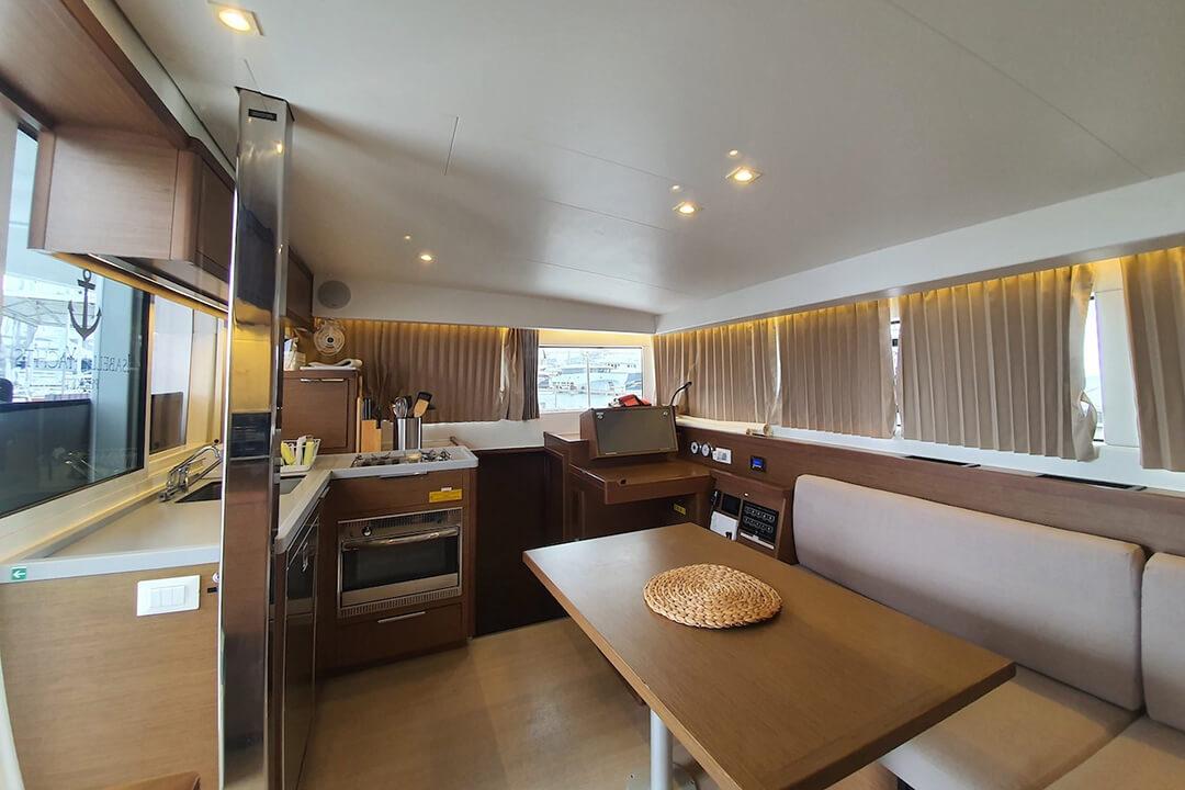 Lagoon 40 saloon sailing catamaran Phuket