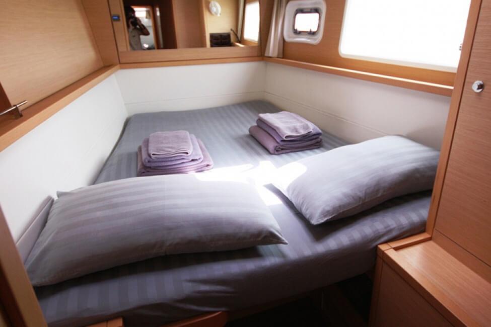 Lagoon 450 cabin charter boat Phuket
