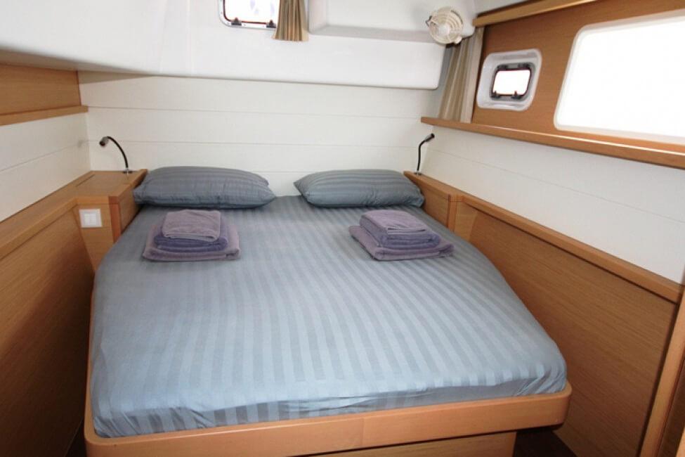 Lagoon 450 cabin charter catamaran Phuket