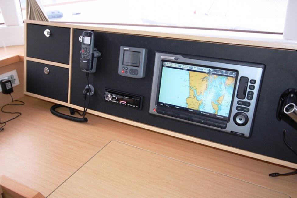Lagoon 450 navigation charter catamaran Phuket