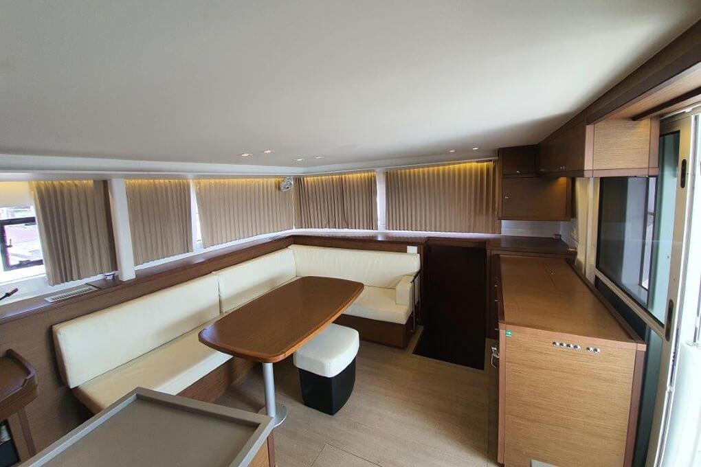 Lagoon 450S saloon charter boat Phuket