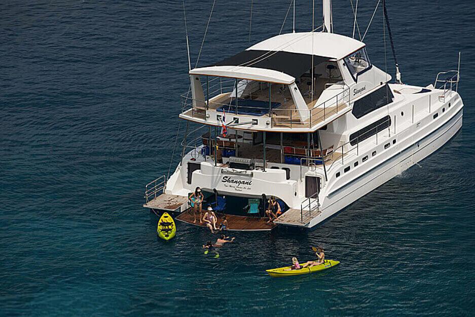 Lagoon 70 Thailand Yacht Charter