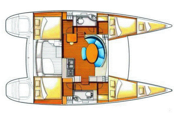 Lagoon380 layout