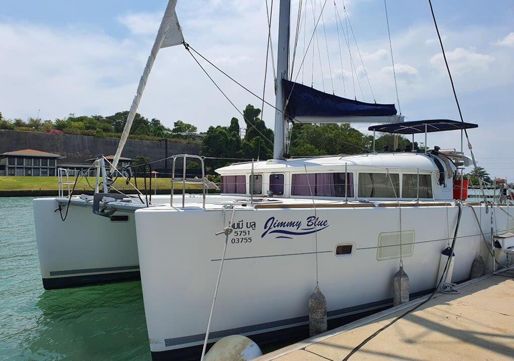 Lagoon400S Marina