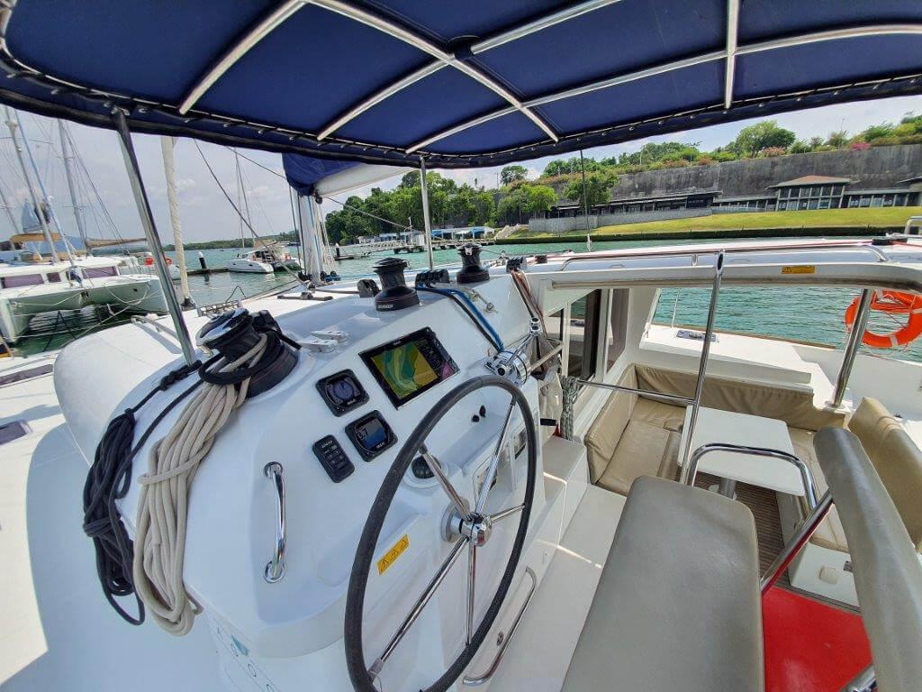 Lagoon400S helm