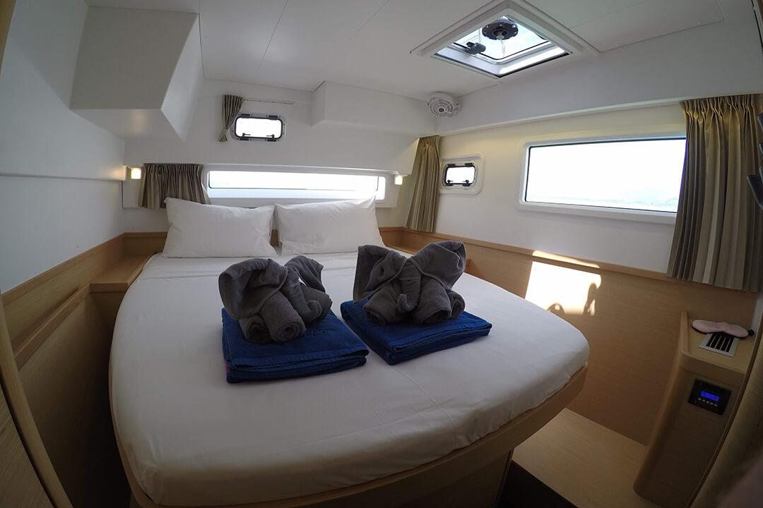 Lagoon42 cabin