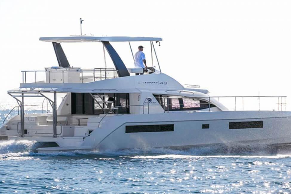Leopard 43 yachting_tour Thailand