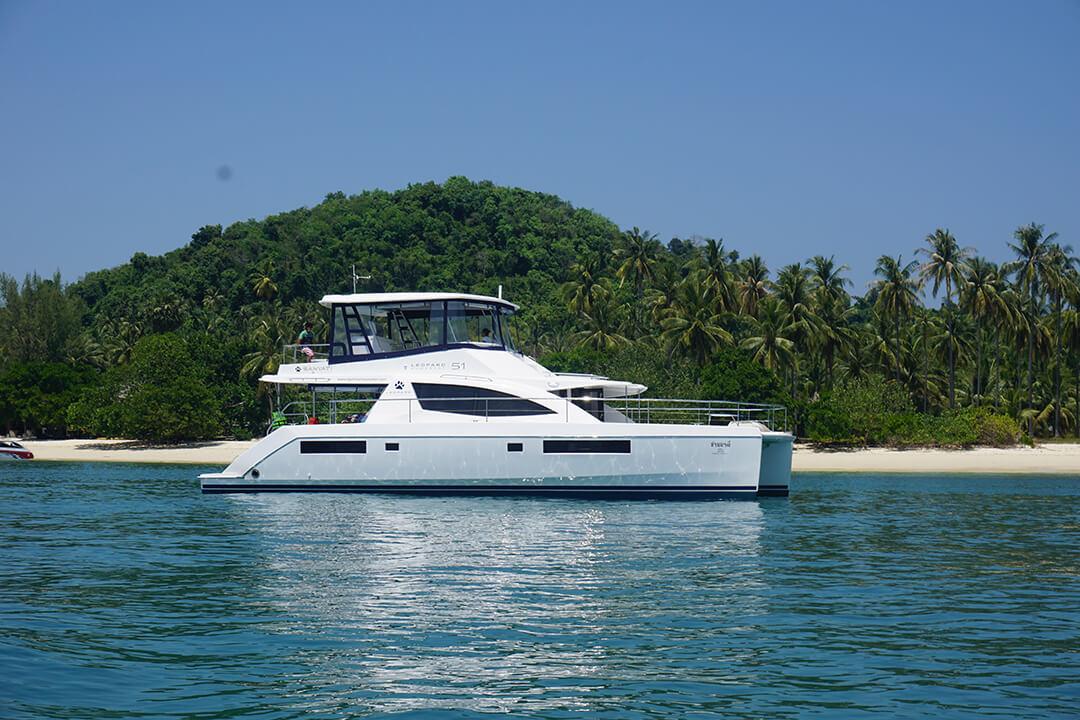 Leopard 51 Phuket Catamaran Charter