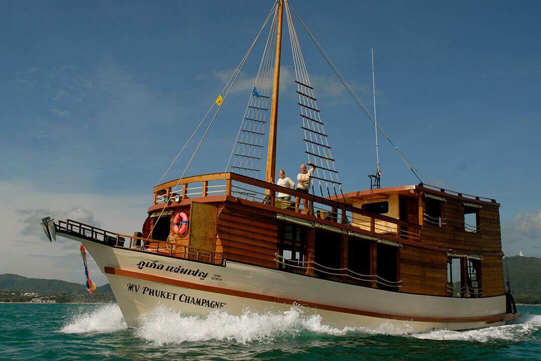 MV Phuket Champgne Boating