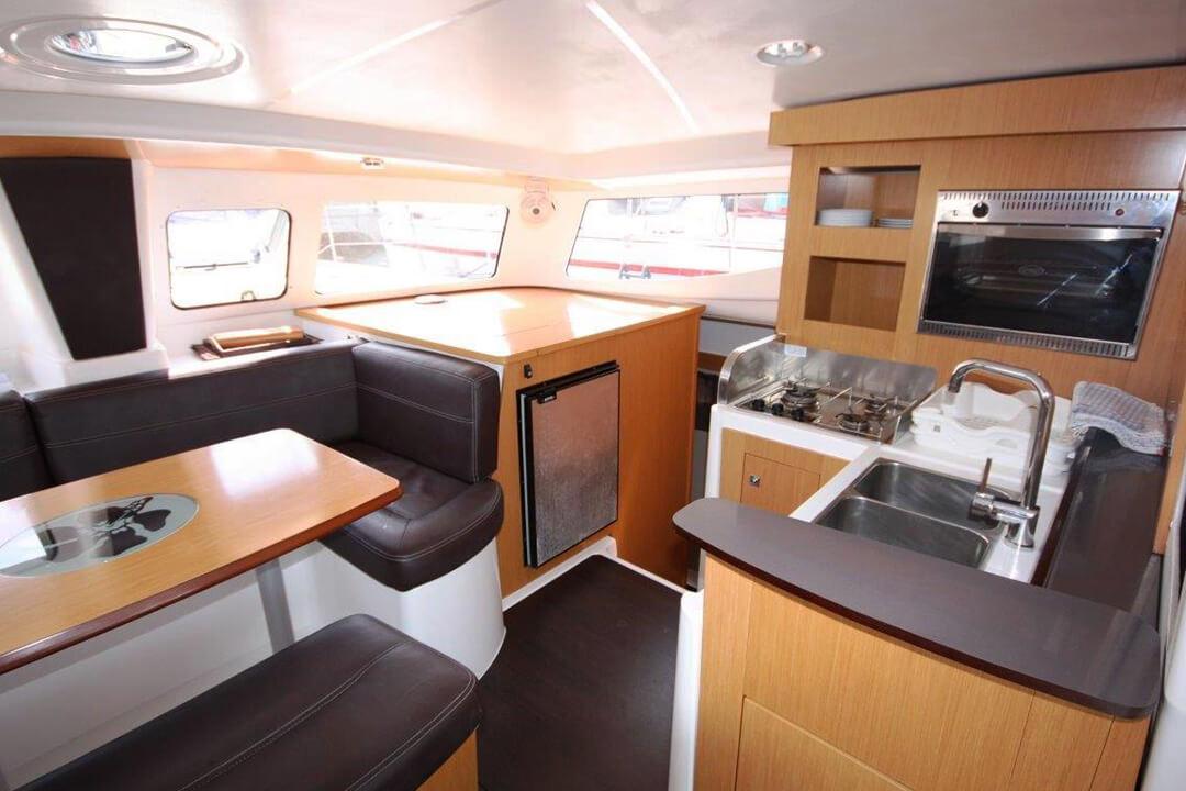 Mahe 36 Galley Charter boat Phuket