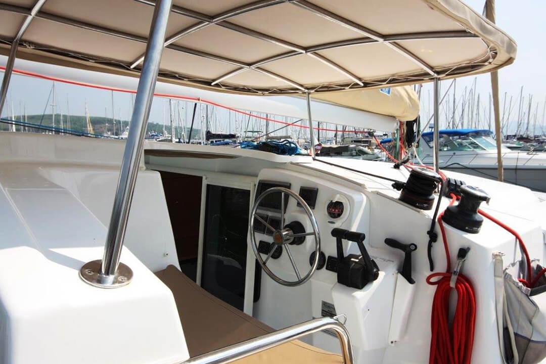 Mahe 36 Helm Phuket catamaran