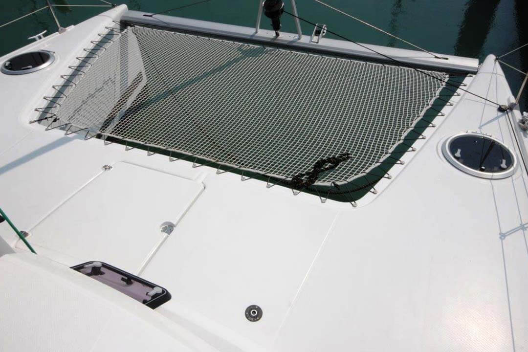 Mahe 36 netting boat charter Phuket