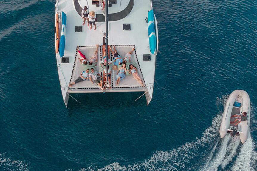 Mumby 48 charter boat