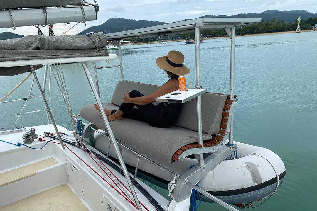 Mumby 48 charter yacht Thailand