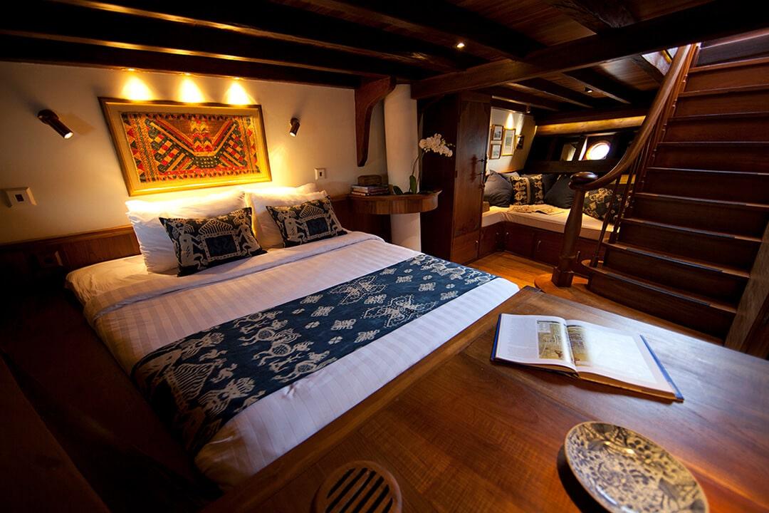 Si Datu Bua Luxury Sailing Yacht Indonesia