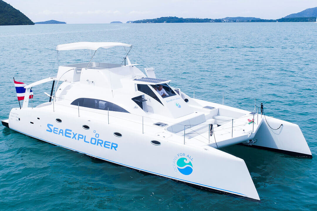 Stealth 47 Catamaran Phuket Thailand Charter