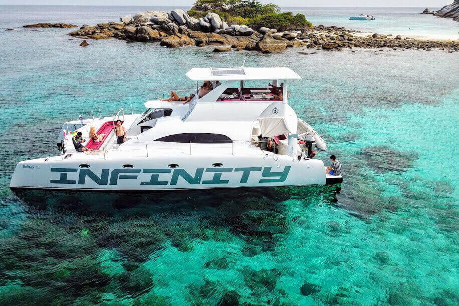 Stealth 47 Island cruises Thailand
