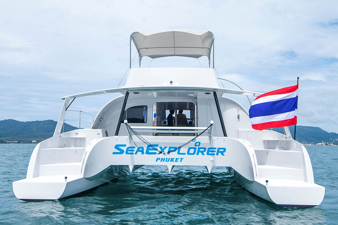Stealth 47 Phuket Charter Boat rental