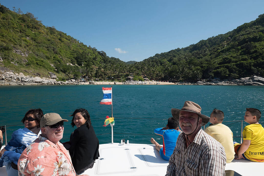 Stealth38 Boating Phuket Thailand