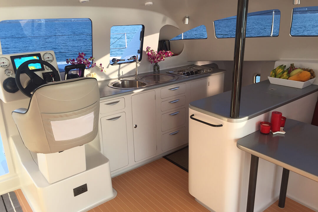 Stealth38 Phi Phi Islan sailing