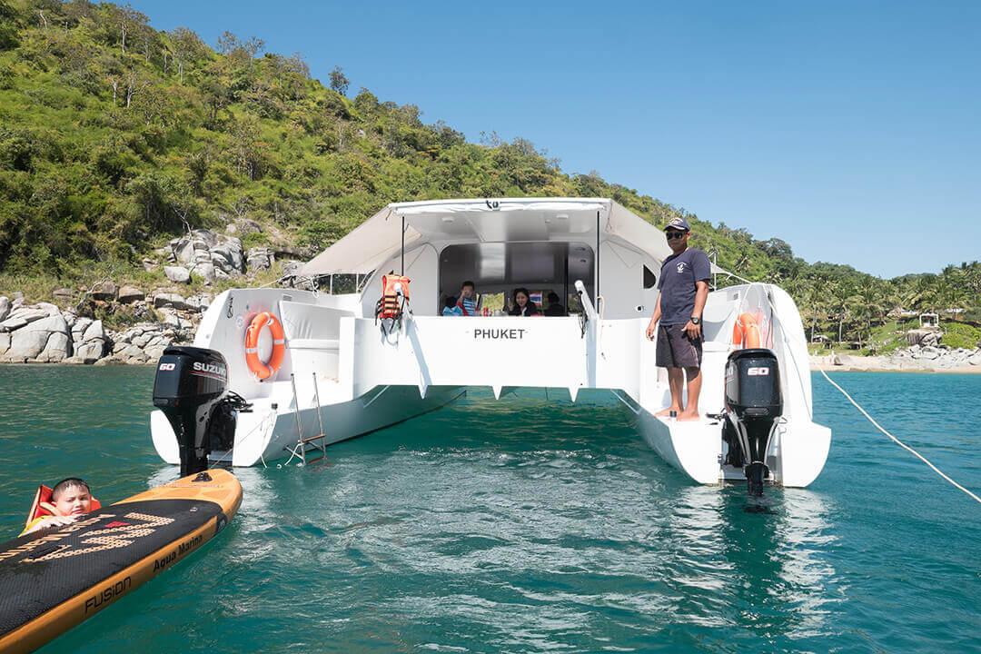 Stealth38 boat charter Phuket