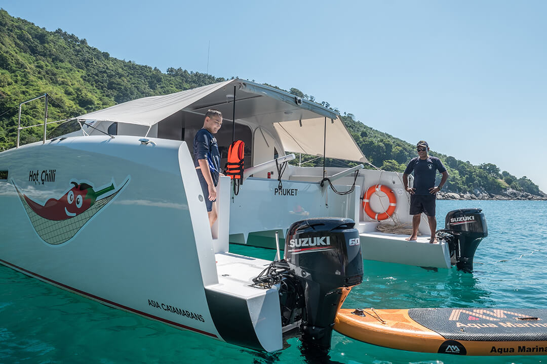 Stealth38 boat charters Phuket