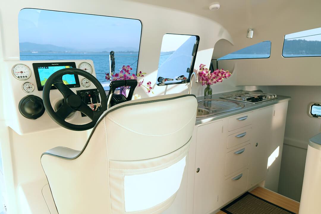 Stealth38 catamaran Thailand