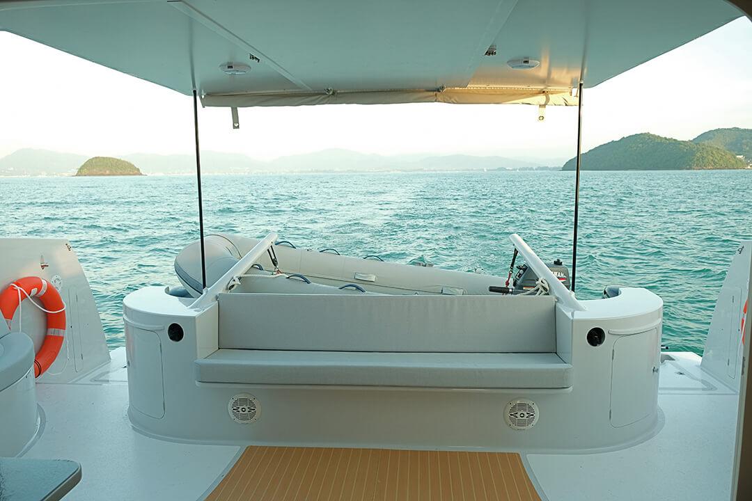 Stealth38 sail Phi Phi Islands