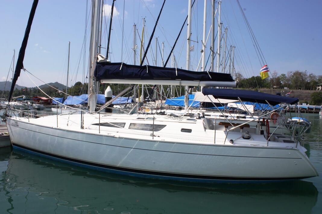 Sun Odyssey 40 marina sailing boat Phuket