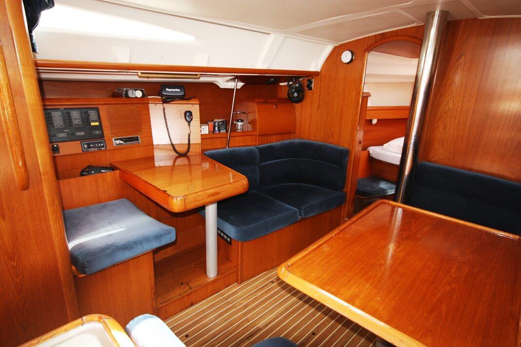 Sun Odyssey 40 navigation sailing boat Phuket