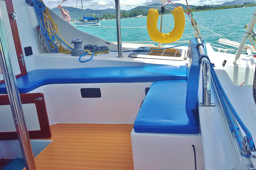 Swift cockpit charter boat Phuket