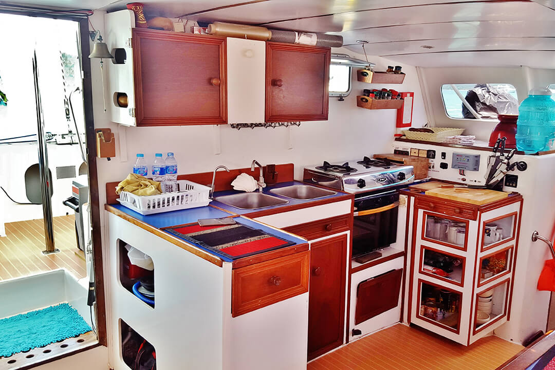 Swift galley Boating Thailand