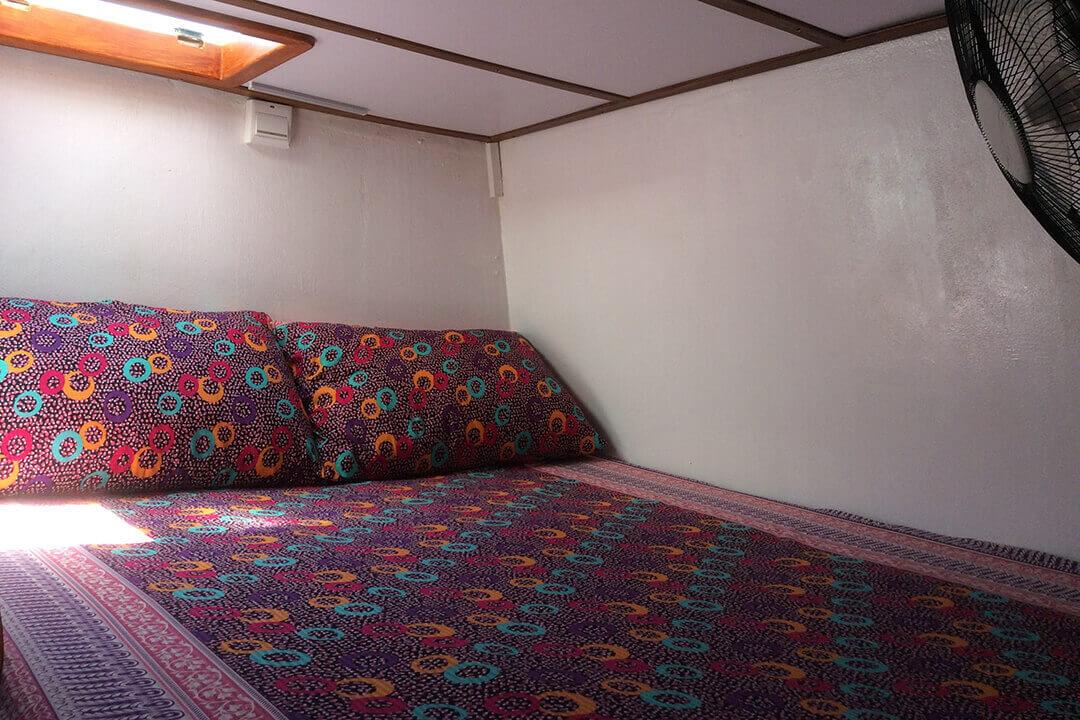 Swift port cabin
