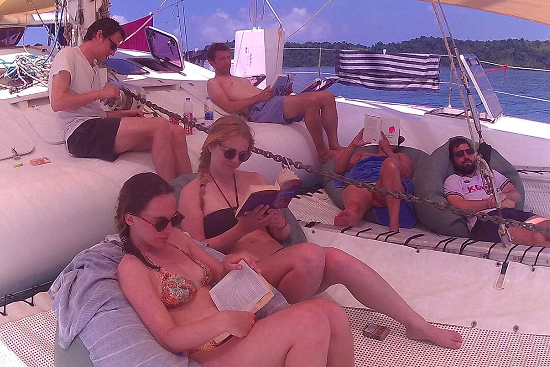 Swift relaxing boat trips Thailand